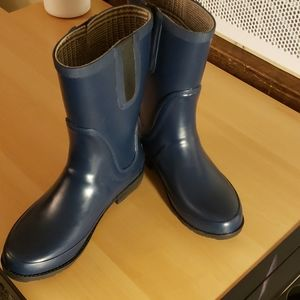 LLBean, Size 9, Navy blue, Wellies,